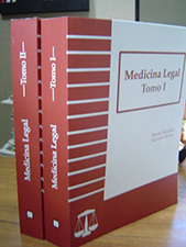 Logo Medicina legal (tomos I y II)