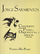 Logo Conciertp para Paino y Orquesta No. 3 Opus 39